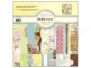 Best of 2012 Bo Bunny Paper &amp; Sticker Collection Pack: Bo Bunny Paper Collection Pack C&#39;est La Vie