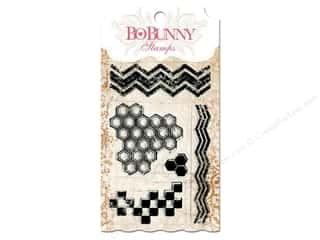 Bo Bunny Stamps Clear Geometric Patterns