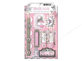 Bo Bunny Sticker Cardstock 3D Isabella
