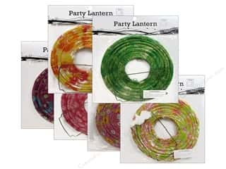 "Novelty Items Sewing Novelties: Sierra Pacific Decor Lantern Paper Small 8"" Round Floral Assorted 6 Patterns (6 pieces)"