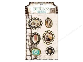 Bo Bunny Charms and Pendants: Bo Bunny Trinkets 6 pc. Mama Razzi 2