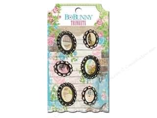 Clearance Blumenthal Favorite Findings: Bo Bunny Trinkets 6 pc. Prairie Chic