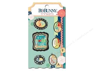 Clearance Blumenthal Favorite Findings: Bo Bunny Trinkets 6 pc. Family Is