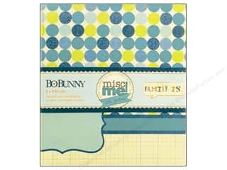 Clearance Bo Bunny Mini Albums: Bo Bunny Misc Me Binder 8 x 9 in. Family Is