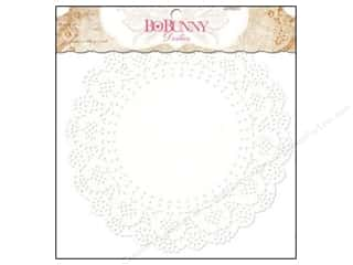 Valentine's Day Cooking/Kitchen: Bo Bunny Doilies 8 1/2 in. Large 20 pc. (3 pieces)