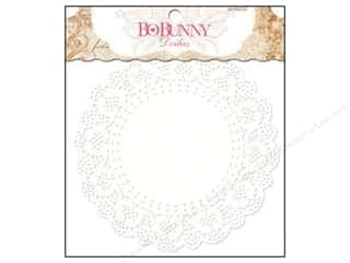 Valentine's Day Cooking/Kitchen: Bo Bunny Doilies 6 1/2 in. Medium 20 pc. (3 pieces)