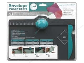 Clearance Spellbinders Presto Punch Template: We R Memory Envelope Punch Board