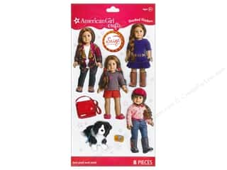 2013 Crafties - Best Quilting Supply: American Girl Stickers 2013 Girl Of The Year Saige
