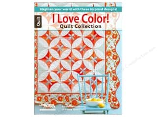 Leisure Arts Clearance Books: Leisure Arts I Love Color Quilt Collection Book by Marcia Harmening
