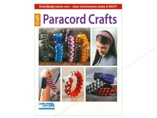 American Crafts Books & Patterns: Leisure Arts Paracord Crafts Book