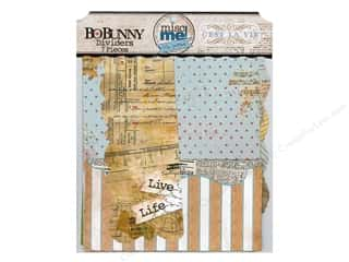 Books & Patterns Music & Instruments: Bo Bunny Misc Me Dividers C'est la Vie