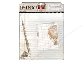 Bo Bunny Designer Papers & Cardstock: Bo Bunny Misc Me Note Papers Vintage