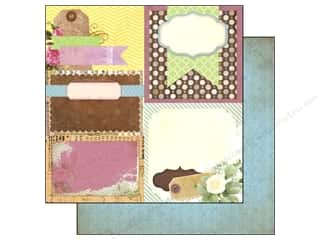 Clearance Bo Bunny Paper Collection Packs: Bo Bunny 12 x 12 in. Paper C'est La Vie Collection Decoupage (25 sheets)