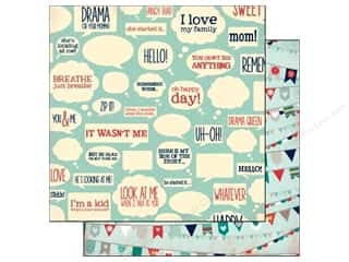 Bo Bunny Paper 12x12 Family Is Happy (25 piece)