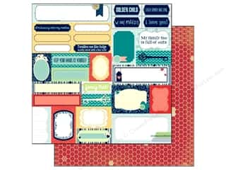 Transportation Bo Bunny 12 x 12 in. Paper: Bo Bunny 12 x 12 in. Paper Family Is Collection Silly (25 pieces)