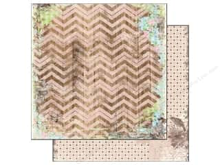 Bo Bunny 12 x 12 in. Paper Prairie Chic Chevron (25 piece)
