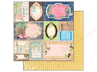 Bo Bunny 12 x 12 in. Paper Prairie Chic Flea Market Finds (25 piece)