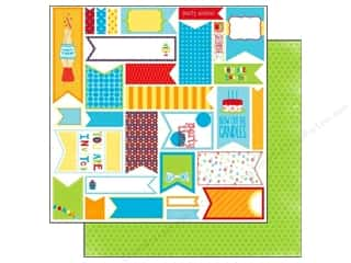 Bo Bunny Paper 12x12 Surprise Banners (25 piece)