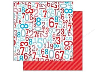 Bo Bunny Paper 12x12 Surprise Numbers (25 piece)