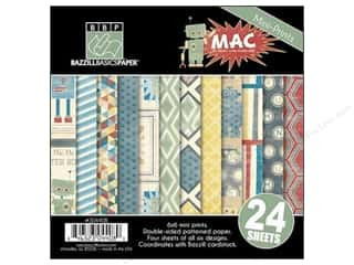 "Weekly Specials Lake City Crafts Quilling Paper: Bazzill Multi Pack 6""x 6"" MAC 24pc"