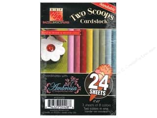 Bazzill Burlap cardstock: Bazzill 4 x 6 in. Two Scoops Pack 24 pc. Ambrosia (3 sheets)