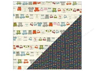 Clothesline, The: Bazzill 12 x 12 in. Paper Lucy's Crab Shack Clothesline/Kite Tails 25 pc.