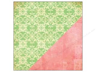 Bazzill New: Bazzill 12 x 12 in. Paper Ambrosia Brocade/In The News 25 pc.