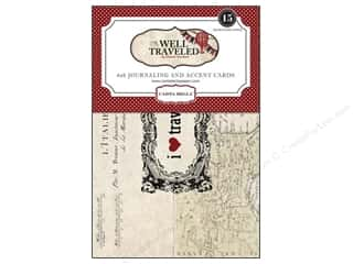 Carta Bella Journaling Cards Well Traveled