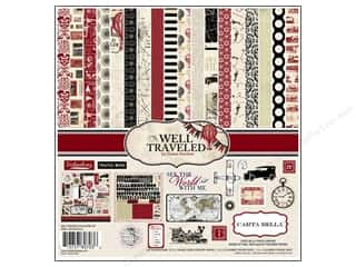 Carta Bella Collection Kit 12x12 Well Traveled
