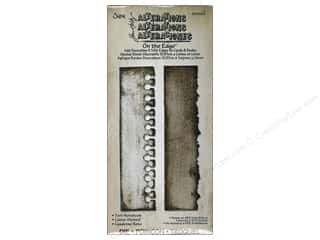 "Dies 12"": Sizzix On The Edge Die Torn Notebook by Tim Holtz"