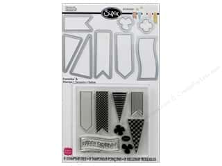 Sizzix Die SBarnard Framelits Stamp Banners #2