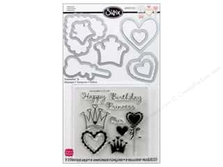 Sizzix Framelits Die Set 8 PK with Stamps Princess