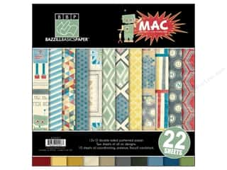 "Weekly Specials ArtBin Quick View Carrying Case: Bazzill Multi Pack 12""x 12"" MAC 22pc"