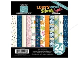 "Weekly Specials Glue Dots: Bazzill Multi Pack 6""x 6"" Lucy's Crab Shack 24pc"