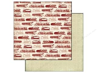 Carta Bella Paper 12x12 Well Traveled The Express (25 piece)