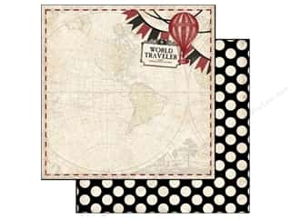 Carta Bella Paper 12x12 Well Traveled World Traveler (25 piece)