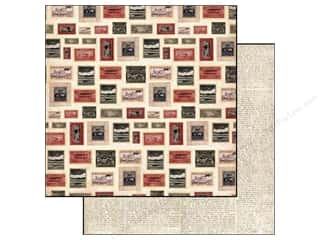 Carta Bella Paper 12x12 Well Traveled Postage (25 piece)