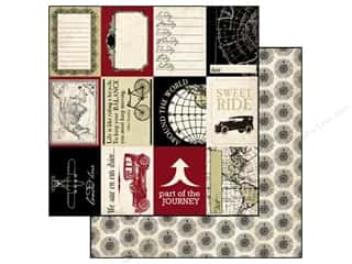 Carta Bella Paper 12x12 Well Traveled Travel Cards (25 piece)