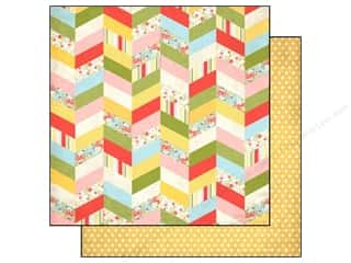 Clearance Blumenthal Favorite Findings: Echo Park 12 x 12 in. Paper Sisters Chevron (15 piece)