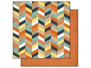 Clearance Blumenthal Favorite Findings: Echo Park 12 x 12 in. Paper Brothers Chevron (15 piece)