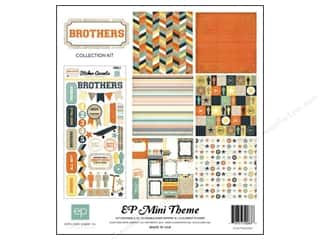 "Echo Park Collection Kit 12""x 12"" Brothers"