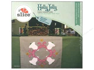 Slice Design Card Holly Jolly