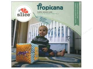 Dies ABC & 123: Slice Design Card Tropicana