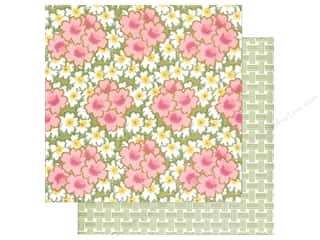 Anna Griffin Paper 12&quot;x 12&quot; Olivia Bursts Pink (25 piece)