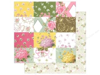 Anna Griffin Paper 12&quot;x 12&quot; Olivia Patchwork (25 piece)