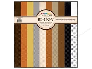Bo Bunny Paper Collection Pack Double Dot Natural