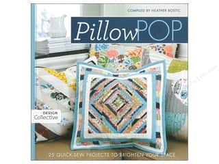 Stash By C&T Pillow Pop Book by Heather Bostic