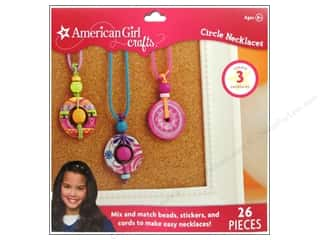 Jewelry Making Supplies Doodlebug Sticker: American Girl Kit Circle Necklace