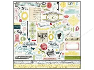 Spring Borders: Carta Bella Sticker 12 x 12 in. So Noted Element (15 sets)