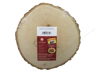Walnut Hollow Wood: Walnut Hollow Basswood Country Round Thick 9 - 11 in.